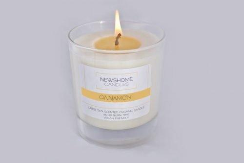 Cinnamon Natural Candles and Vegan Candles 1