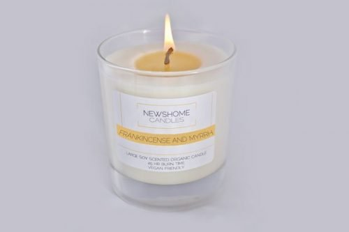 Frankincense and Myrrh Natural Candles and Vegan Candles 1